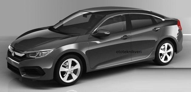 16 Dizel Honda Civic Sedan Sadece Türkiyede üretilecek