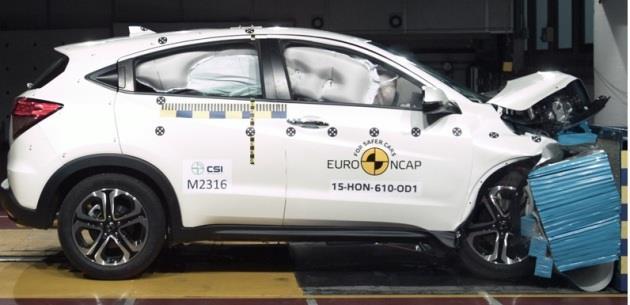 2015 Honda Jazz ve HR-V Euroncap S�nav�nda