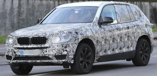 2016 BMW X3 PROTOT�P� G�NEY ALMANYA'DA G�R�NT�LEND�