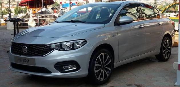 2016 Fiat Egea Sedan'dan Yeni Foto�raflar