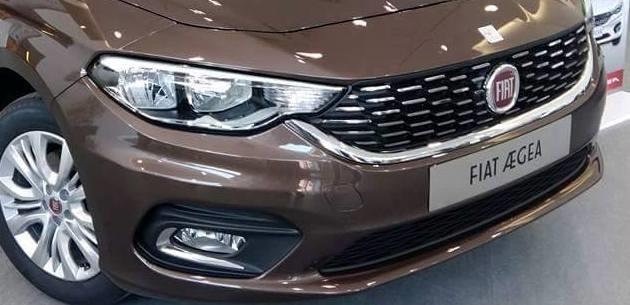 2016 Fiat Egea Sedandan Yeni G�r�nt�ler