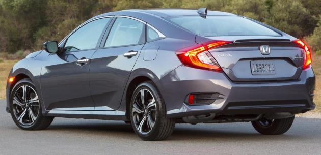 2016 Honda Civic Sedan Güvenlik Özellikleri (Gövde Yapısı)