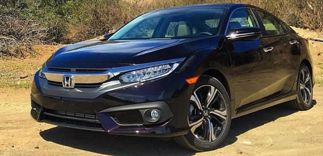 2016 Honda Civic Sedan'dan Yeni G�r�nt�ler