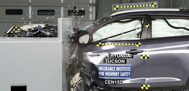 2016 Hyundai Tucson IIHS G�venlik Testinde