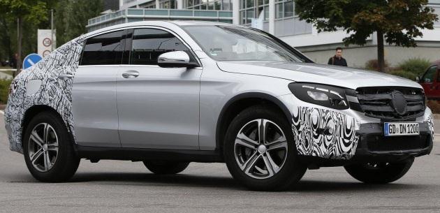 2016 Mercedes GLC Coupe ilk kez g�r�nd�