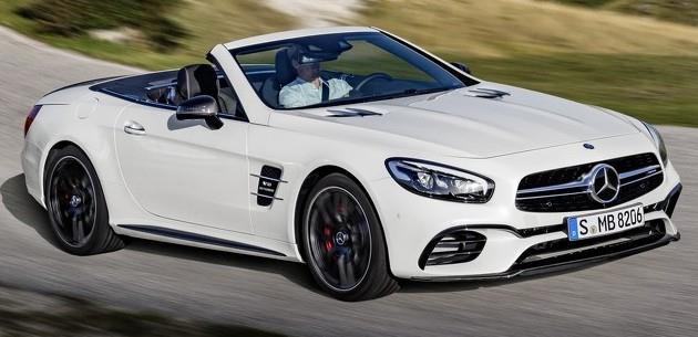 2016 Mercedes SL �lk Teknik Detaylar�