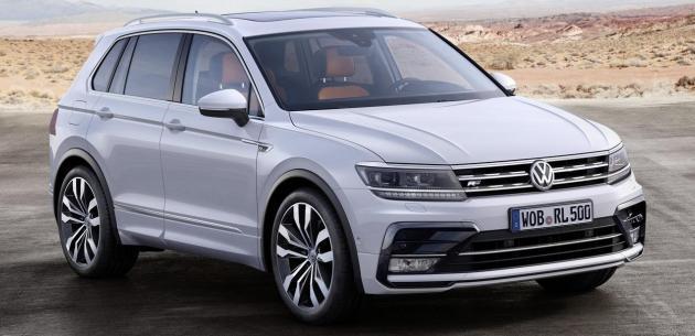 2016 Volkswagen Suv >> 2016 Vw Tiguan Motor Secenekleri