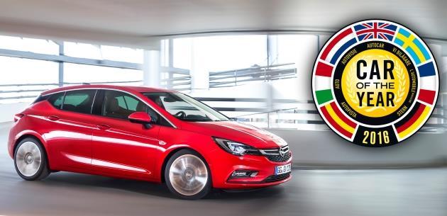 2016 Yılın Otomobili Opel Astra