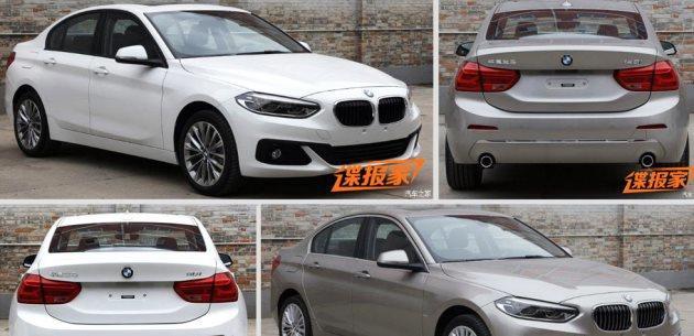 2017 BMW 1 Serisi Sedan'dan Yeni fotoğraflar