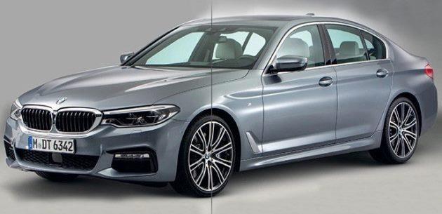 2017 BMW 5 Serisi İlk Görüntüleri