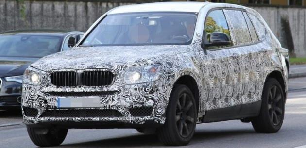2017 BMW X3'TEN SON G�R�NT�LER