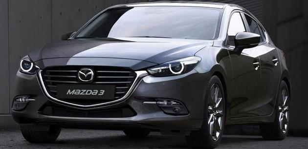 2017 Mazda 3 Resmi Olarak Tanıtıldı