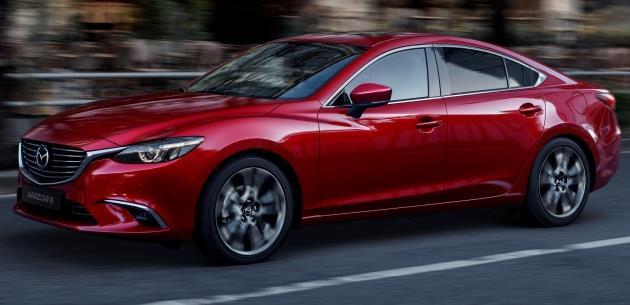 2017 Mazda 6 Bu Sonbaharda Geliyor