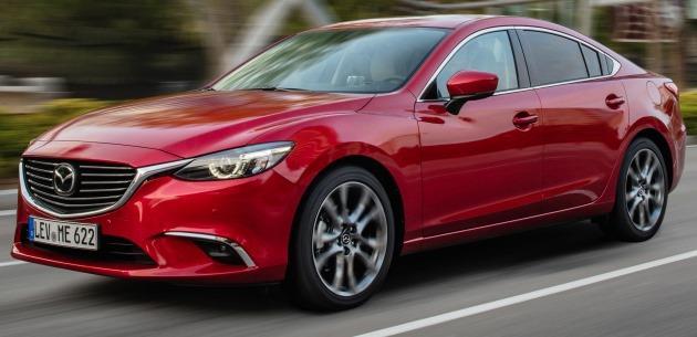 2017 Mazda 6 için G-Vectoring Control Teknolojisi