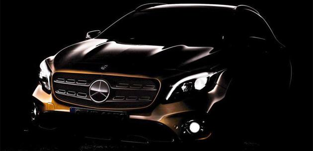 2017 Mercedes-Benz GLA'dan ilk fotoğraf