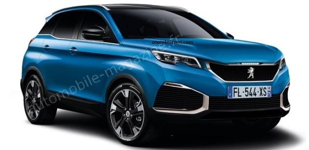 2017 Peugeot 3008'den Yeni Görüntüler