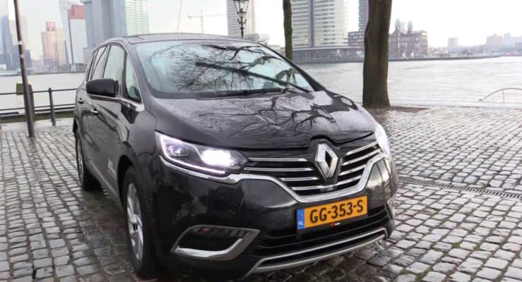 2017 Renault Espace, TCe 225 EDC benzinli motora kavuştu