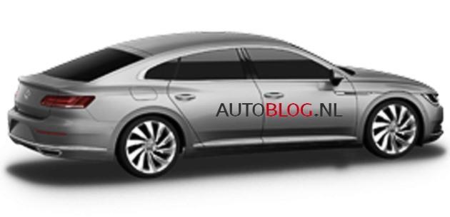 2017 Volkswagen CC�ye Sport Coupe GTE G�r�n�m�