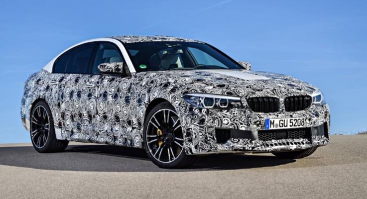 2018 BMW M5 600 hp güç çıkışı ve üç modlu xDrive sürüş sistemiyle geliyor
