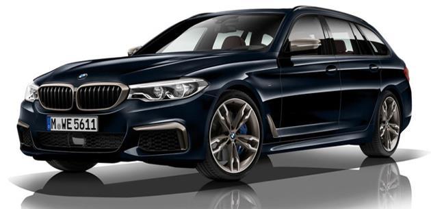 2018 BMW M550d xDrive: dört turbolu 400 hp dizel motor