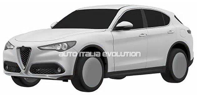 Alfa Romeo Stelvio giriş seviyesi patent görüntüleri ile ortaya çıktı