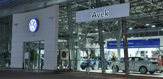Avek Otomotiv yeni tesisini Ümraniye'de açtı.