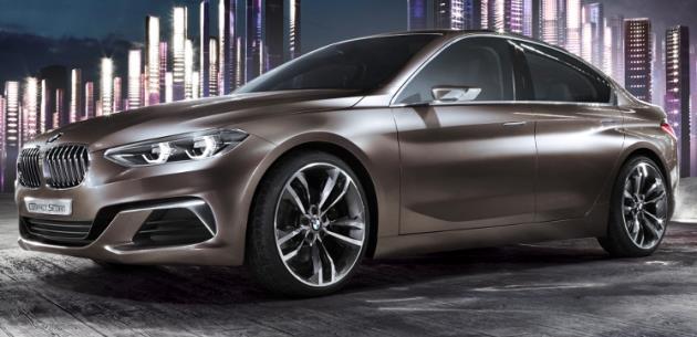 BMW 1 Sedan'ın Öncüsü; Concept Compact Sedan