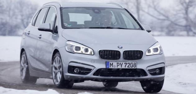 BMW 2 Serisi Active Tourer'da i8 Teknolojisi
