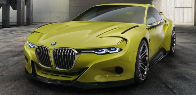BMW 3.0 CSL HOMMAGE KONSEPT� TANITILDI