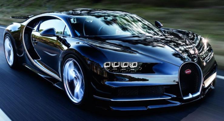 Bugatti Chiron 450 km/s hıza çıkacak