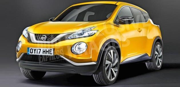 Daha L�ks ve Ak�ll� Yeni Nissan Juke 2017�de Geliyor
