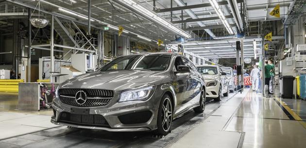 Mercedes 2018'de Rusya'da fabrika inşa etmeye başlayacak