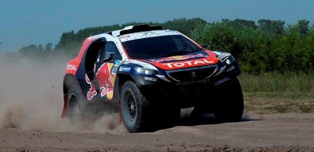 Dakar Rallisi�ne geri d�nen Team Peugeot Total tam gaz yar��...