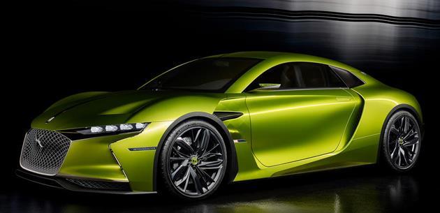 DS E-Tense süper otomobil üretime geçirilecek