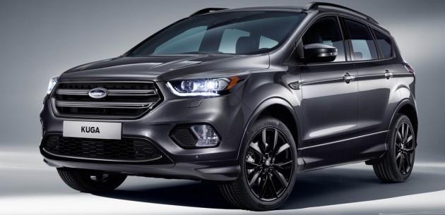 Ford Kuga 2016 Makyajl� Y�z�yle Ortaya ��kt�