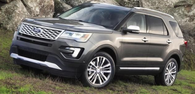 Ford Un Buyuk Suv Modeli Explorer A Makyaj