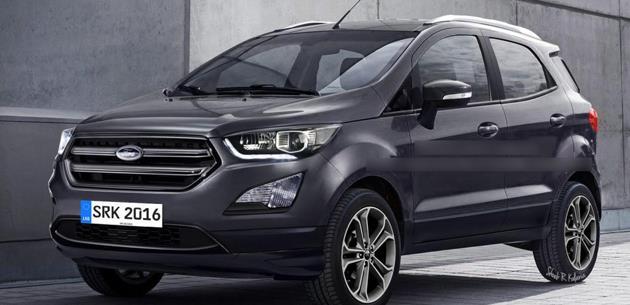 G�ncellenen Ford EcoSport 8 Kas�m�da Sao Paulo�da tan�t�lacak