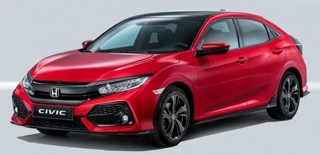 Honda Civic fiyatları ve özellikleri İngiltere'de duyuruldu
