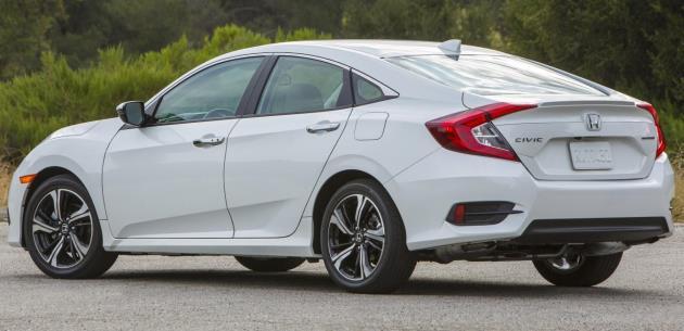 Honda Civic Sedan 2016 Süspansiyon Sistemi Detayları