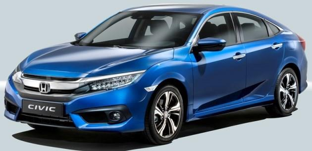 Honda Civic Sedan Avrupa i�in Netle�ti