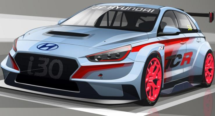Hyundai İ30 TCR yarışlara girmeye hazırlanıyor