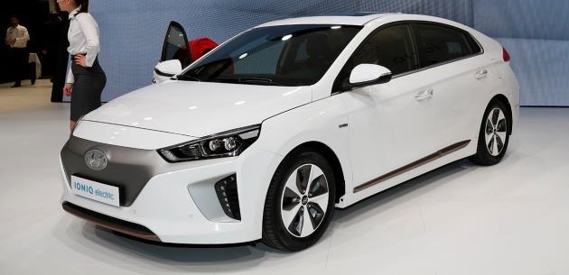 Hyundai IONIQ Teknolojisi ile Dikkat Çekiyor