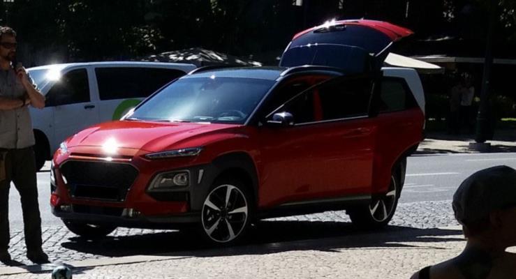Hyundai Kona yine görüntülendi