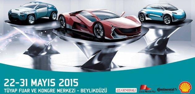 �STANBUL AUTOSHOW 2015'�N YEN� MODELLER�