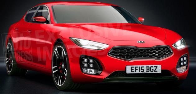 Kianın Yeni Gt Spor Sedan Modeli 2017de çıkacak