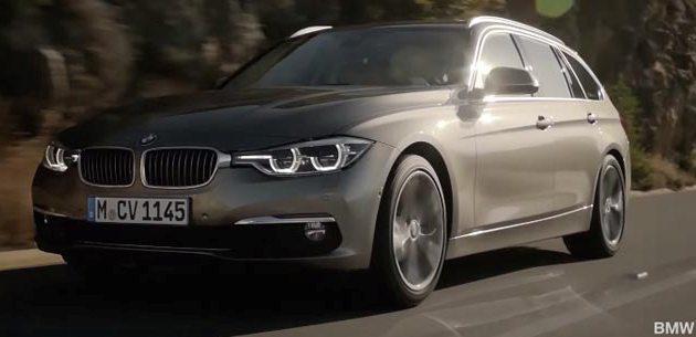 MAKYAJLANAN BMW 3 SER�S� SEDAN VE TOURING ���N TANITIM F�LM�
