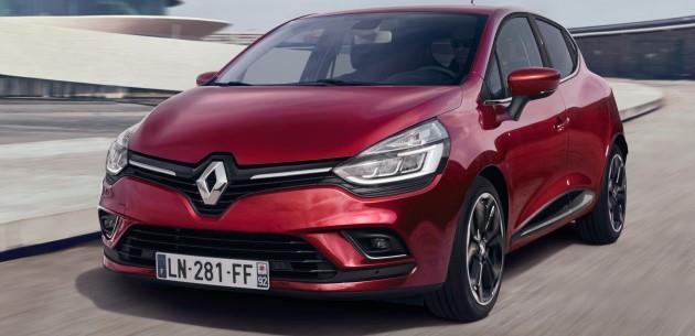 Makyajlı 2016 Renault Clio Resmi Olarak Tanıtıldı