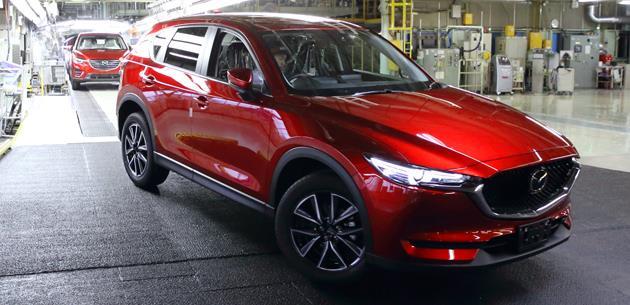 Mazda, yeni Mazda CX-5'in üretimini başlattı
