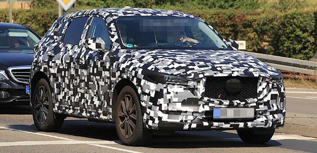 Mazda Yeni Nesil CX-5'i Test Ediyor
