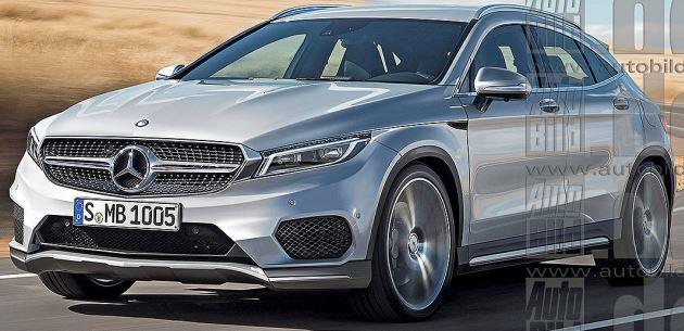 Mercedes 2017 GLA Coupe ve Pikap Modellerini Duyurdu